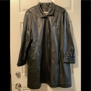 Leather Factory Original No.9 Sz S Trench coat